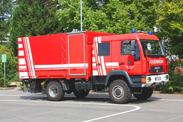 Gerätewagen-Logistik  GW-L2  (Schr 1/74)